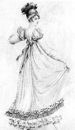 Модная картинка начала 19 века