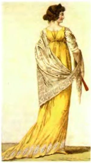 Модная картинка начала XIX века