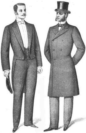 Tailcoat, Frock Coat, 1898